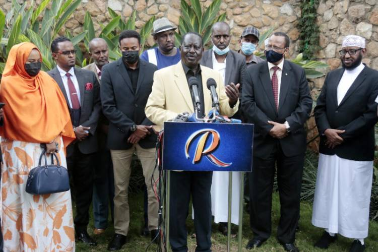 Could communication gaffes be costing Raila the presidency?