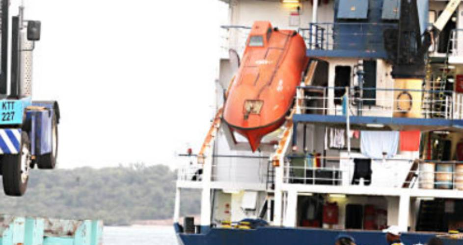 Cranes and forklifts: Lamu port's logistical nightmare