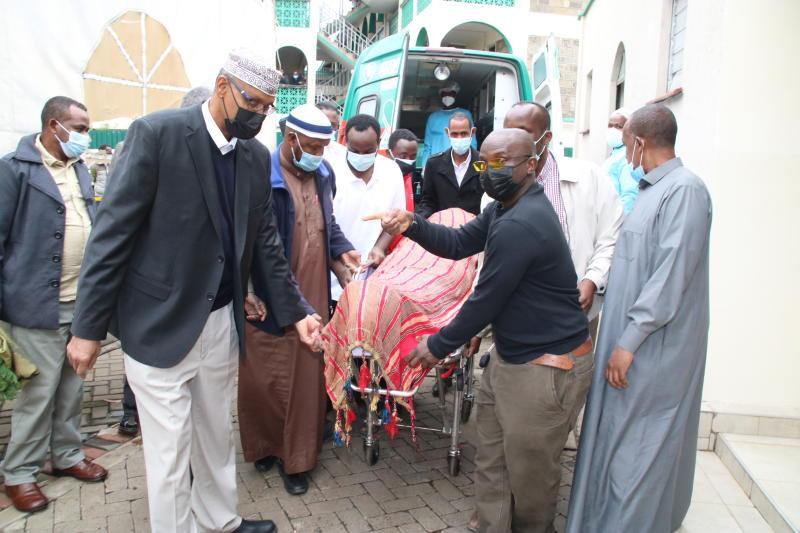 CS Amina's husband dies, buried at their family home in Lukenya