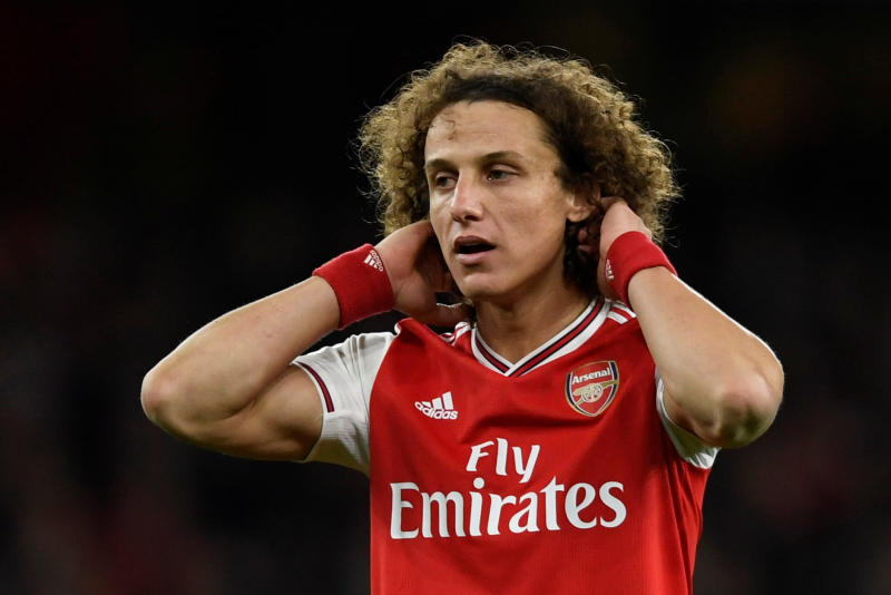 David Luiz's time at Arsenal coming to an end?