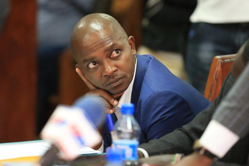 DCI grill Mwendwa over Sh244m, player bonuses