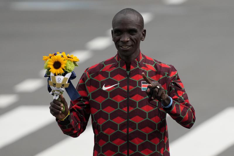 Eliud Kipchoge nominated for Male Athlete of the Year award