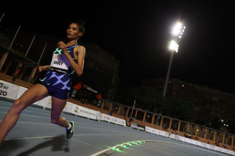 Ethiopian Gidey smashes women's 5,000 metres world record