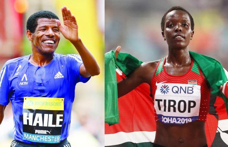 Ethiopia's Gebrselassie honours fallen Tirop as he launches Great Run
