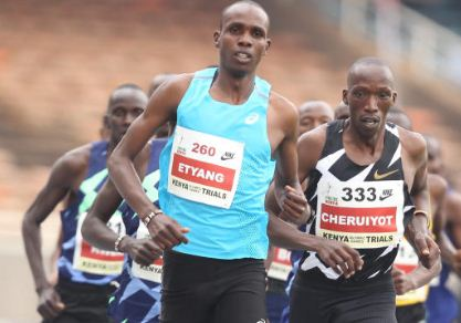 Etyang, Keter aiming for World U20 glory in men's 1500m