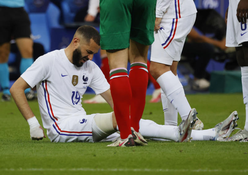 Euro 2020: French federation gives update on Benzema injury
