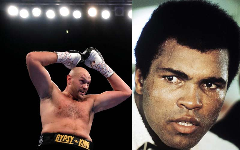 Even Muhammad Ali would have struggled to deal with Tyson Fury - promoter