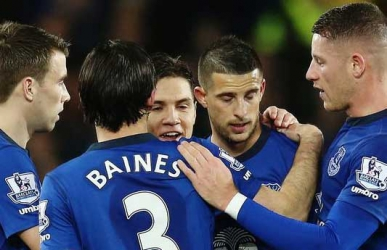 Everton Manager Martinez Expects no Gifts at Leicester's Party