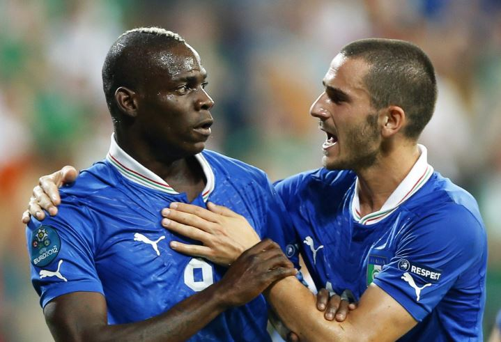 Mario Balotelli Leonardo Bonucci Lucky I Wasn T There After Moise Kean Comment The Standard Sports