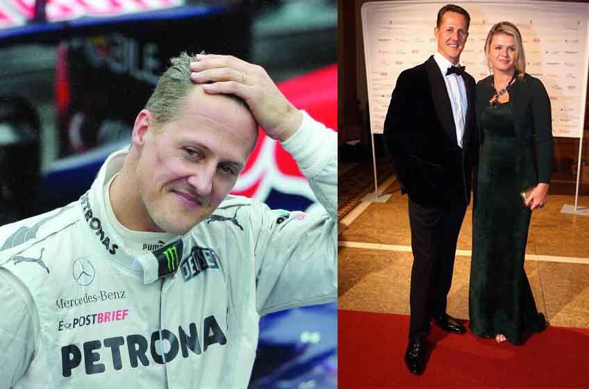 F1 legend Michael Schumacher is 'here, but a little different...'