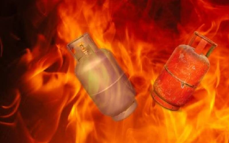 FALSE: Transporting gas cylinder on motorbike will not cause explosion