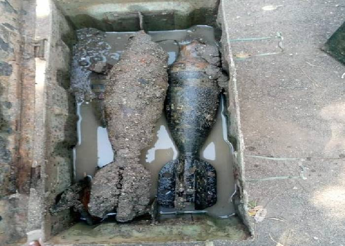 Fear as six unexploded mortar bombs discovered in Lake Victoria