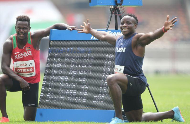 Ferdinand Omanyala, Mark Otieno qualify for Tokyo Olympics