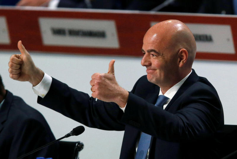 FIFA, Infantino pledge to co-operate with Swiss prosecutors