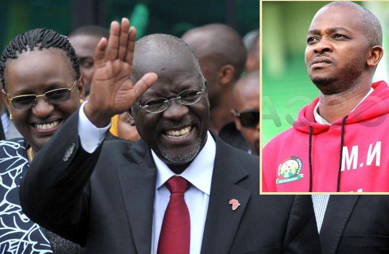 FKF boss Nick Mwendwa leads sports fraternity in mourning Magufuli 's death