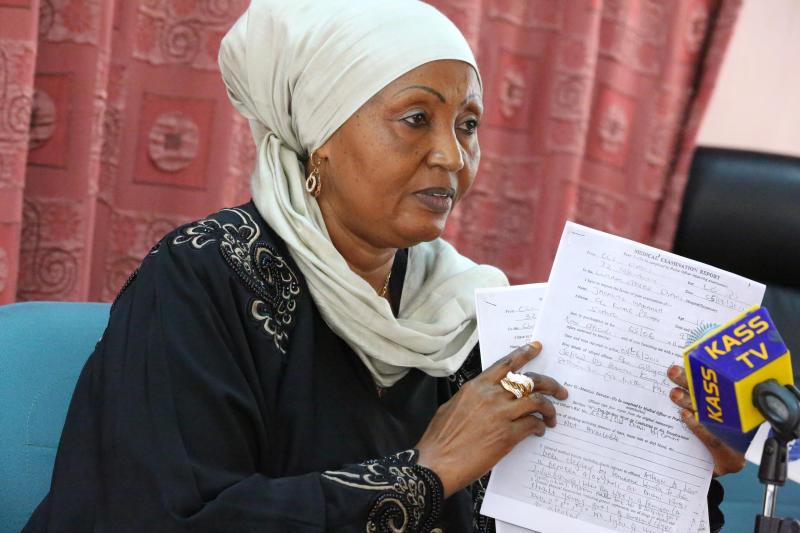 Former Kwale Woman Representative Zainab Chidzuga dies