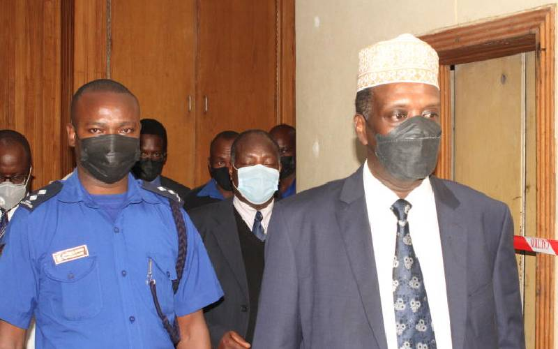 Former Sports CS Wario freed after paying Sh3.6m fine