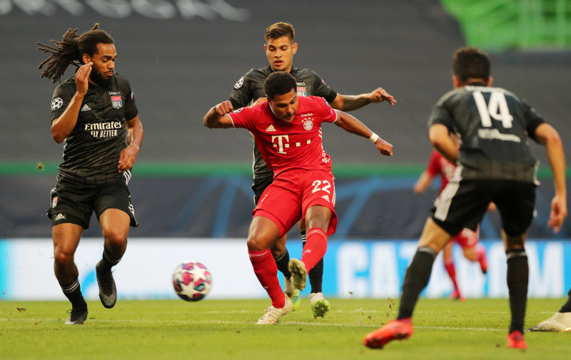 Gnabry double sends dominant Bayern into Champions League final