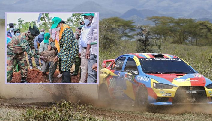 Government reaffirms its commitment in promoting WRC Safari Rally Greening Legacy Project