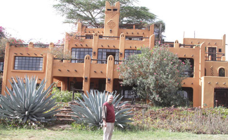 Africa's most photographed house