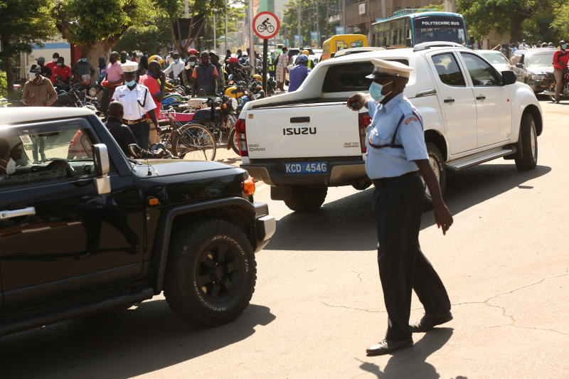 Heavy policing: It's hard a road to travel, but just keep moving