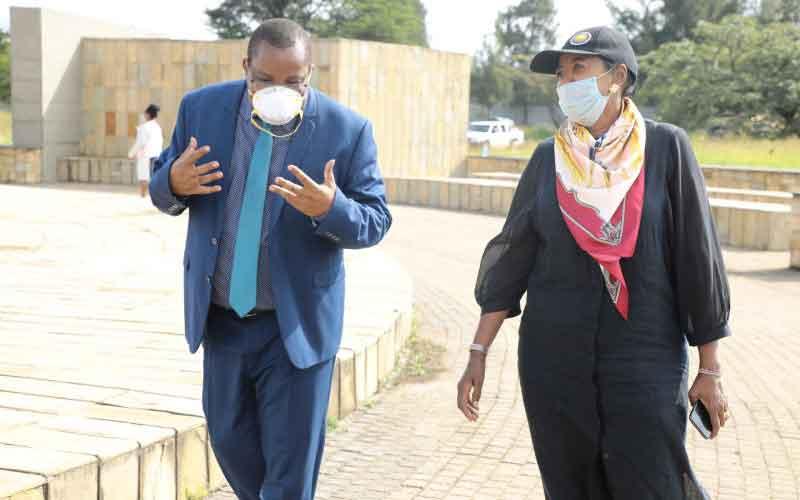 Historical Uhuru Gardens closed for renovations