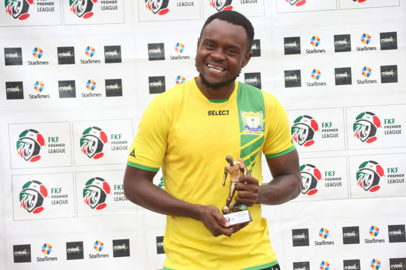 Homeboyz's Mwinyi wins FKF-PL Player of the Month award