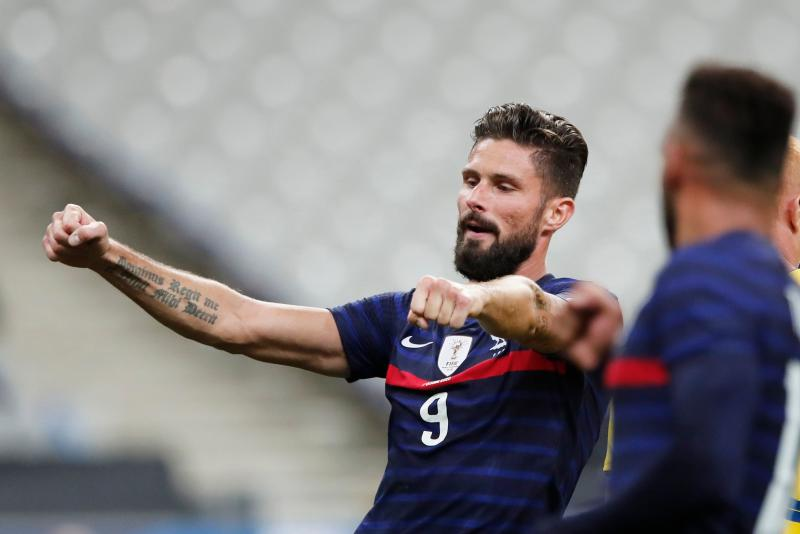 Olivier Giroud Becomes France S Second Top Scorer In Ukraine Rout The Standard Sports