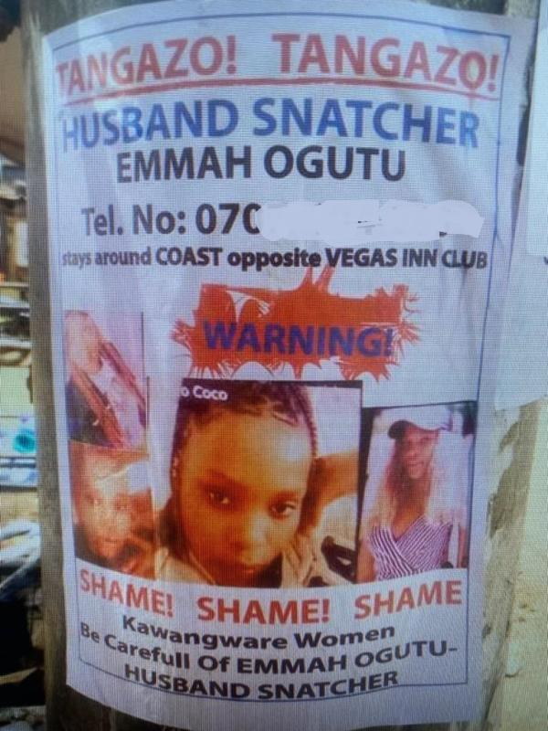 I am no husband snatcher, claims woman in viral city poster