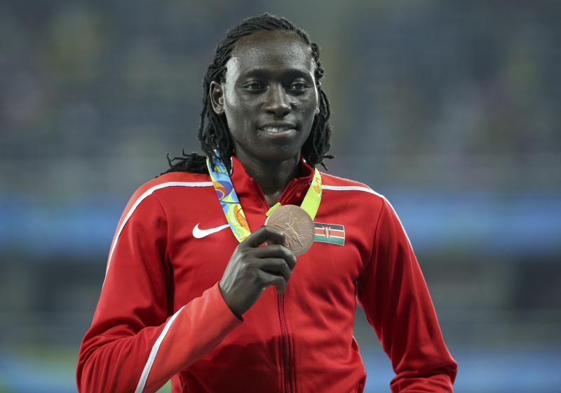 I was born this way: Olympic bronze medalist Margaret Nyairera