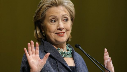 Embattled Hillary Clinton urges State Department to release her emails