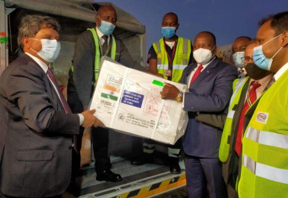 India donates Covid-19 vaccine to Kenya (Photos)