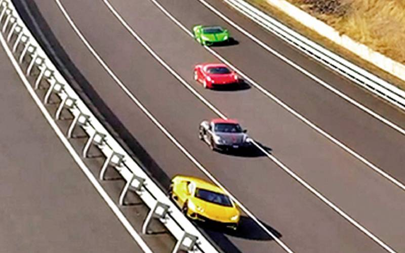 India opens Asia's longest high-speed track