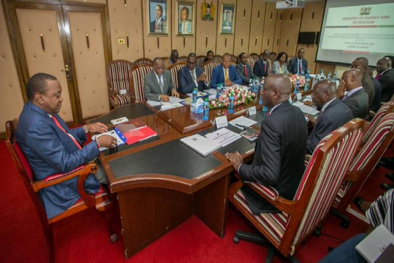 Uhuru allows Cabinet Secretaries to go on Christmas leave: The ...
