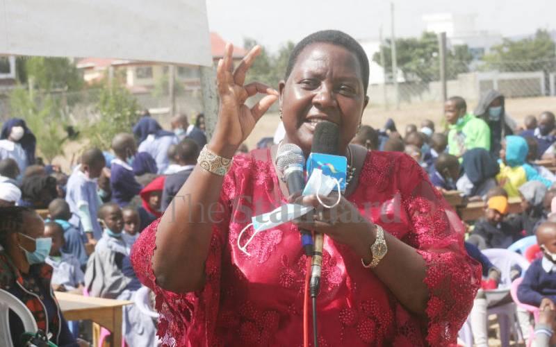 'Iron lady of Kajiado' now eyes governorship