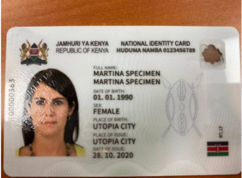 Huduma Namba to replace National ID from December 2021 - The Standard