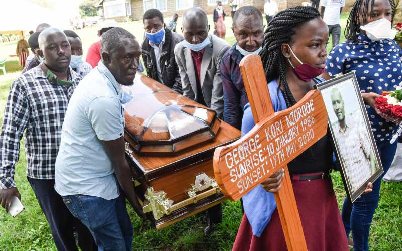 K24 journalist who killed himself is buried: The Standard