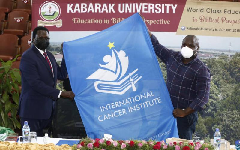 Kabarak to offer pioneer cancer course after deal with global body