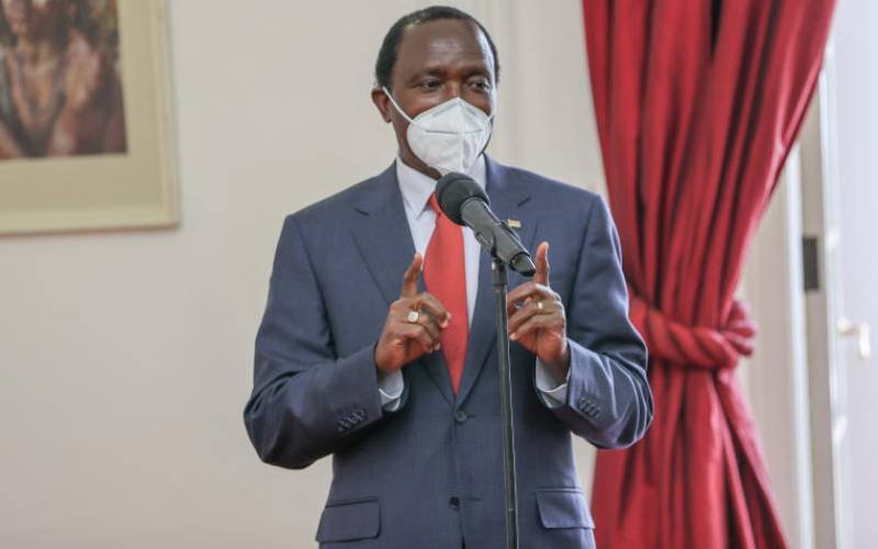 Kalonzo surprises himself by taking firm stand on 2022