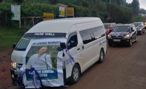 Kangogo's body leaves Iten morgue for burial