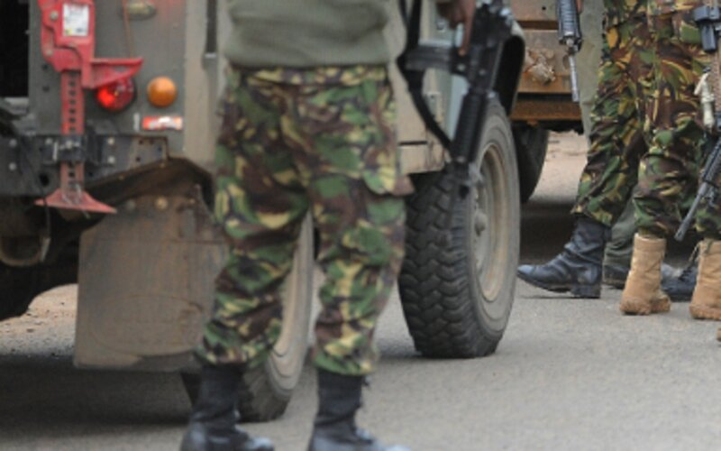 KDF soldier, policeman attack colleagues in Nairobi CBD