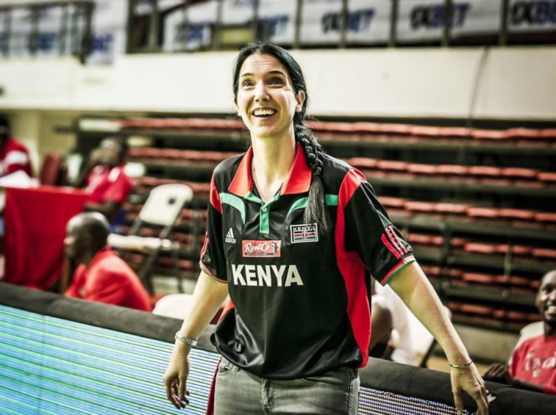 Kenya Morans head coach Mills is a lady with a Midas Touch