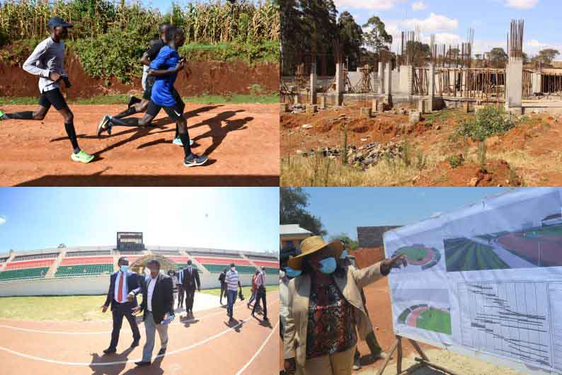 Kenyan athletes were promised six stadiums by 2020: Where are they?