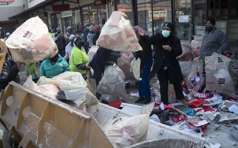 Kenyans in S Africa fear being caught up in chaos