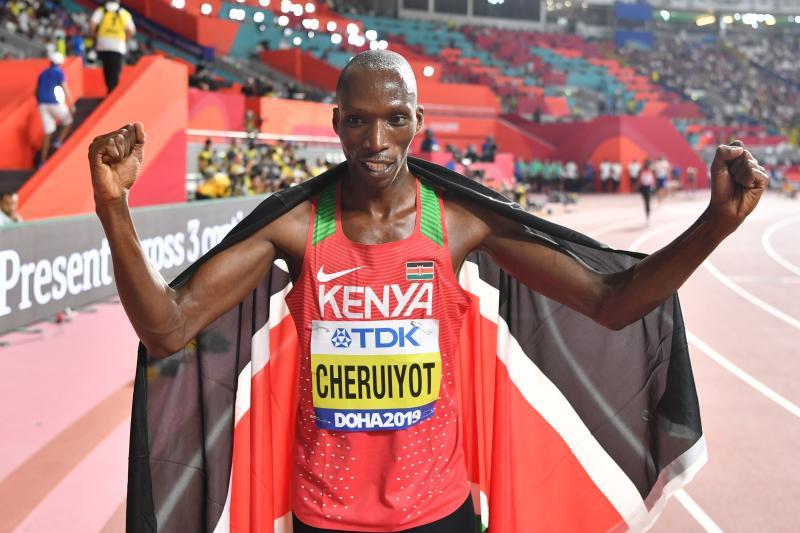 Kenyans Obiri, Cheruiyot aim for strong return in Doha