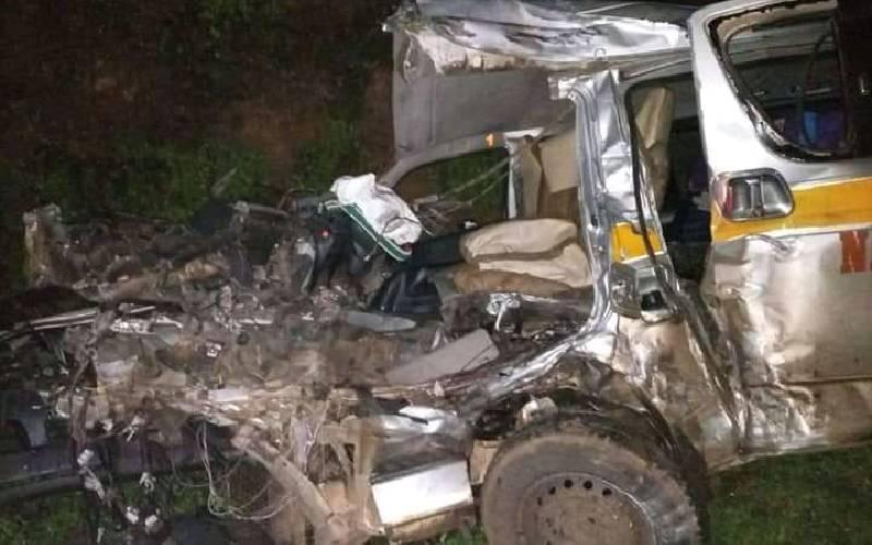 Three people killed in Kericho-Nakuru highway accident