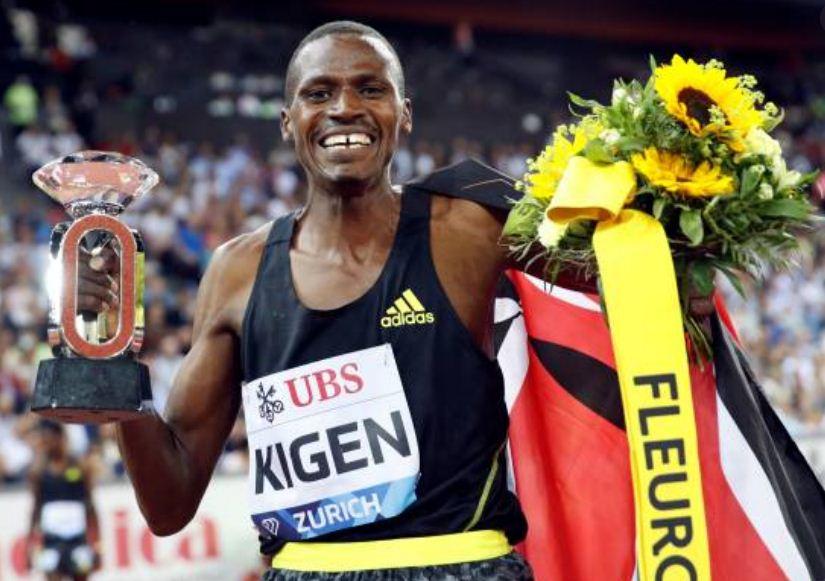 Kigen, Jeruto win 3000m steeplechase at Diamond League in Zurich