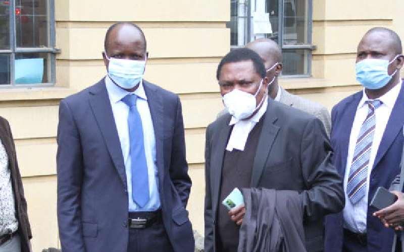 Kioko Kilukumi, the man in Governor Okoth Obado's corner