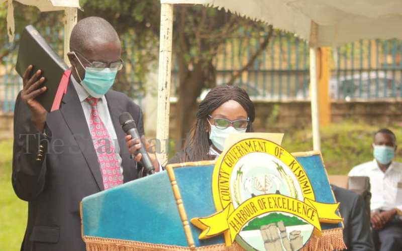Kisumu County Health Executive Boaz Nyunya is dead
