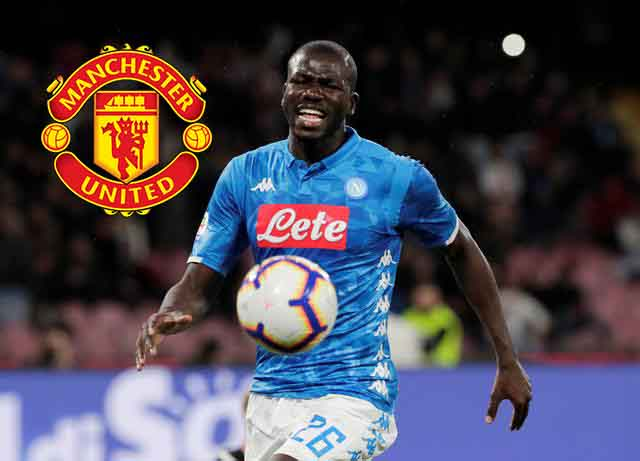 Koulibaly transfer fee reduced as Man United close on centre-back